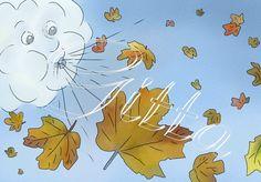 Klecksblock: Herbstwind