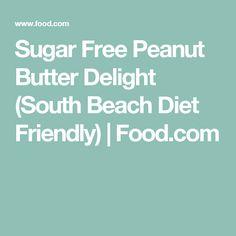 Sugar Free Peanut Butter Delight (South Beach Diet Friendly) | Food.com