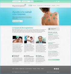 Diseño web para Magneto Terapia