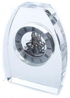 Dartington Crystal Clock Small Crystal