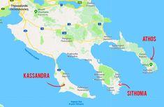 Things to do in Sithonia, a peninsula of Halkidiki in Greece Greece Food, Greece Map, Greece Travel, Greece Resorts, Italy Coast, Greece Culture, Halkidiki Greece, Greece Holiday, Viajes