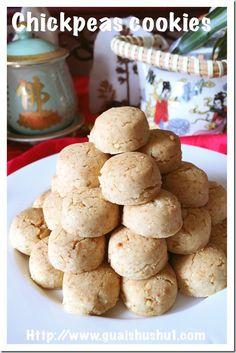 Chickpeas cookies (马豆酥) #guaishushu #kenneth_goh   #chickpeas_cookies #马豆酥
