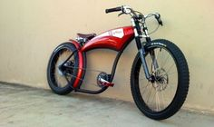 Retro Voltage Cycles to rid electric bicycles of boring image - Auto Chunk Cruiser Bicycle, Motorized Bicycle, Fat Bike, Cool Bicycles, Cool Bikes, Chopper Moto, Rs4, Motorised Bike, Velo Vintage