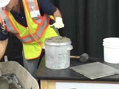 Concrete Air Test   ASTM C231 Pressure Method ACL Acl, Concrete