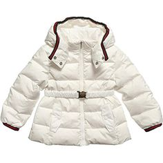 Gucci Baby Girls White Belted Down Feather Ski Jacket 9m/12m Made in Italy BNWT Gucci Baby Girls Coat/Jacket Padded Coat/Jacket Comes with a Waist Belt Signature Gucci Green/Red/Green print Hooded Jacket Removable Hood Signature Gucci Lining Down Fea (Barcode EAN = 5306896829417) http://www.comparestoreprices.co.uk/december-2016-5/gucci-baby-girls-white-belted-down-feather-ski-jacket-9m-12m-made-in-italy-bnwt.asp