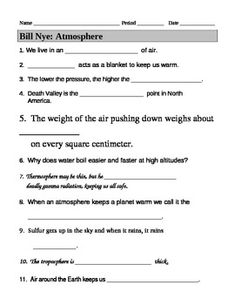 Printables Bill Nye Waves Worksheet bill nye waves video worksheet videos and teaching
