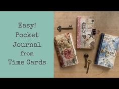 Pocket journal form time cards - perfect for beginners! - YouTube