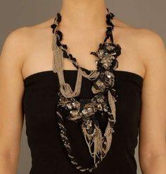 Gaurav Gupta's Tangled Chain Jewelry Designs - The Beading Gem's Journal