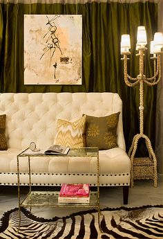 eclectic living room design by dc metro interior designer huntley & co