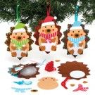 Christmas Hedgehog Decoration Sewing Kits