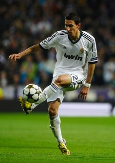 Ángel Di Maria - Rosario Central, Benfica, Real Madrid, Argentina.