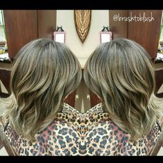 Ash Biege highlights, babylights  Schwarzkopf color