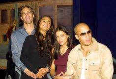 Paul Walker, Jordana Brewster, Michelle Rodriguez, Vin Diesel