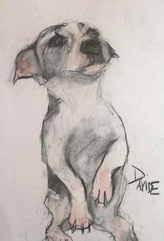 Dog Breeds Little .Dog Breeds Little Animal Paintings, Animal Drawings, Art Drawings, Dog Illustration, Illustrations, Beaded Dog Collar, Collar Choker, Dog Grooming Shop, Giacometti