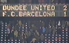 Barcelona 1 - 2 Dundee United