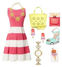 """Kate spade ice cream daisy"" by shelbyspadeglamour on Polyvore featuring Kate Spade"