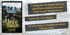 The Hope Fault is a novel by Australian author Tracy Farr that celebrates the everyday complexities of family, extended family, exes and fairy godmothers. Prima Magazine, Australian Authors, Extended Family, Fairy Godmother, Riveting, Novels, Thoughts, Ideas, Romance Novels