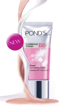 POND'S LUMINOUS FINISH BB+ CREAM - I am so loving this product goes on nice and light gives decent coverage and really does make skin look luminous