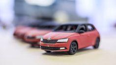 Skoda mini Fabia 3D printed customizable model