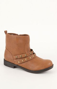 Studded Double Strap Boots