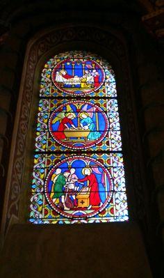 Vitraux de l'abbatiale St Austremoine Issoire