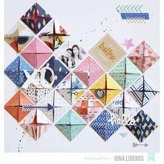 Assortiment 30x30 'American Crafts - Finders Keepers' Qté 48 - La Fourmi…