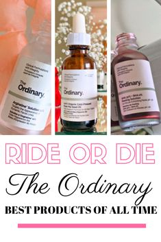The Ordinary products I can't live with out! Plus how to use The Ordinary skincare What are the Best of The Ordinary Products? And what ones can't I live without! Plus how to use The Ordinary products for your best skin ever! Beauty Care, Beauty Skin, Health And Beauty, Healthy Beauty, Face Beauty, Healthy Life, Natural Beauty Tips, Natural Skin Care, Anti Aging Skin Care