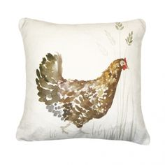 Mrs Chicken Cushion