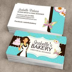 Create Your Own Personalised Bakery Business Cards Online All Templates Are Industry Specific And FREE To Use