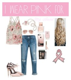 """""""I Wear Pink For My Aunt!"""" by ana-flower ❤ liked on Polyvore featuring White House Black Market, Fratelli Karida, Bailey 44, Mikimoto, Casetify, Ray-Ban, Bobbi Brown Cosmetics, Beautycounter, Maison Francis Kurkdjian and Nails Inc."""