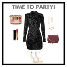 """Party time"" by emmajuliannefrydenlund on Polyvore featuring Chanel, Dolce&Gabbana, MICHAEL Michael Kors, Giuseppe Zanotti, Cachet and Forever 21"