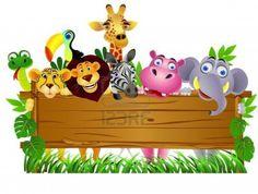 Lego Ninjago Coloring Pages Safari Theme Birthday, Safari Party, Animal Birthday, Cute Cartoon Animals, Cartoon Pics, Safari Animals, Baby Animals, Ninjago Coloring Pages, Daycare Themes