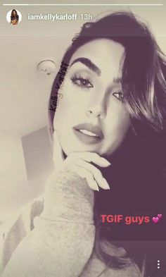 #kellykarloff #iamkellykarloff #instagram #selfie #tgif #beauty #smile #hair #goals #gorgeous #bombshell #hotgirl #happy #brunette #inspo #motivation