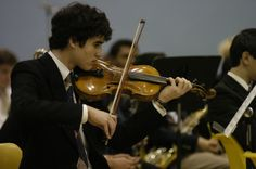 Young Darren Criss, he was in the orchestra just like me :)