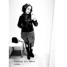 Feeling this... #eurostyle #style #fashion #swedish #black #leather #combat #combatboots #euro #blackandwhite #spy #newyork