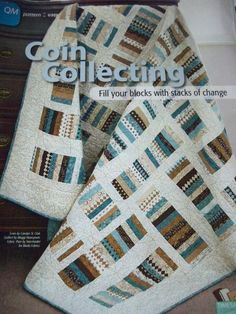 """""""Coin Collecting"""" - Quilt Pattern From Magazine"""