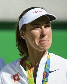 Tennis is not an Olympic sport.... Are you sure?  When you've won almost everything and still cry for a medal... That means it's important!  She overcame the loss at the last minute of her dream team she played with a totally new partner nobody would have bet a penny for her team... And against the odds she won a medal... Martina = Inspiration  Photo/Foto: Unknown/Desconocido  #martinahingis #hingis #martina #olympicsmedalist #silvermedalist #doubles #tennis #tenis #wta #atp #champion…