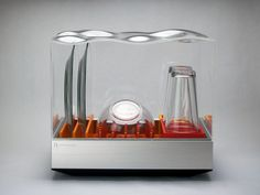 Heatworks and Frog Design have collaborated on Tetra, a compact, connected dishwasher with 10-minute, half-gallon cycles.Heatworks, maker of the Model 3 tankless water heater, is partnering with Frog Design to introduce the Tetra, a connected countertop dishwasher. Powered by Heatworks' Ohmic Array t