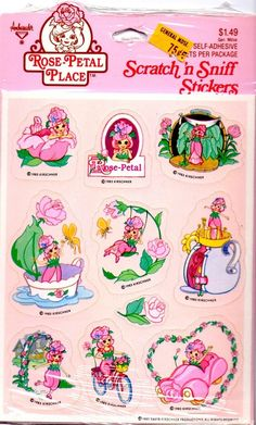 Rose Petal Place stickers