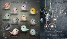 8f8 - Vintage Birds and Dream Catcher Chandeliers | Flickr - Photo Sharing!