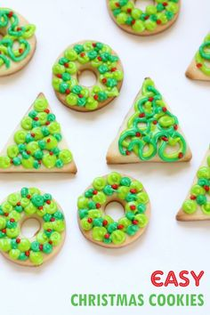 1061 Best Christmas Cookies Images In 2019 Christmas Desserts