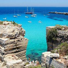 Cala Rossa, Favignana Island, Sicily