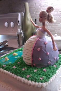 Gateau anniversaire avec creme au beurre