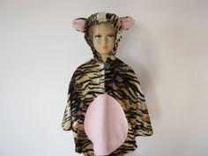 tiger halloween / fasching kostüm cape für von bighead5005 auf Etsy