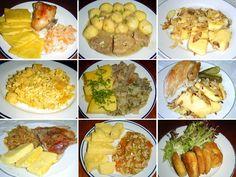 Polenta jako příloha v české kuchyni, recepty na tipy. • Polenta teplá, polenta studená. Základní recept.• Polenta s cibulkou, polenta s vejci. • Polenta s