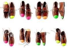 """Schier Shoes' velskoens are the """"ancestor of the modern-day desert boot""""  and create the perfect pop-of-color"""