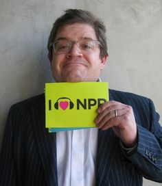Patton Oswalt is a Big Fan of NPR and shows his love. (March 2012)