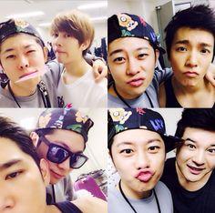 gunheenim Instagram Update with Heechul, Kangin, Shindong & Donghae