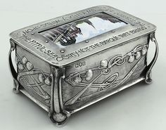 Thee doos zilver circa 1910