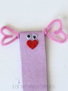 Just Between Friends: Valentines Crafts for Kids   Love Bugs